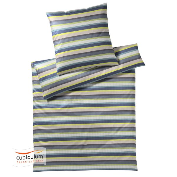 Elegante Bettwäsche | Color Stripe ( multicolor ) | Mako-Satin 2