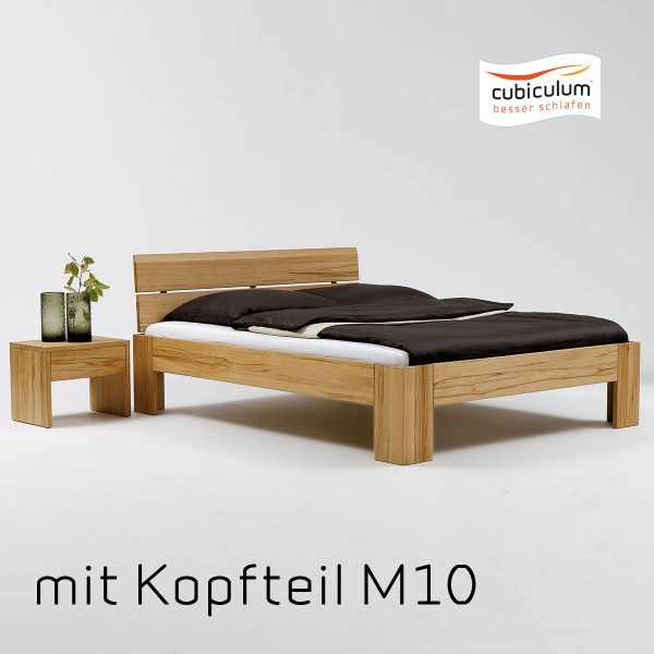 mm collection Bett | M20 | Kernbuche geölt 2