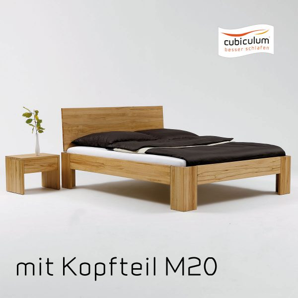 mm collection Bett | M20 | Kernbuche geölt 3